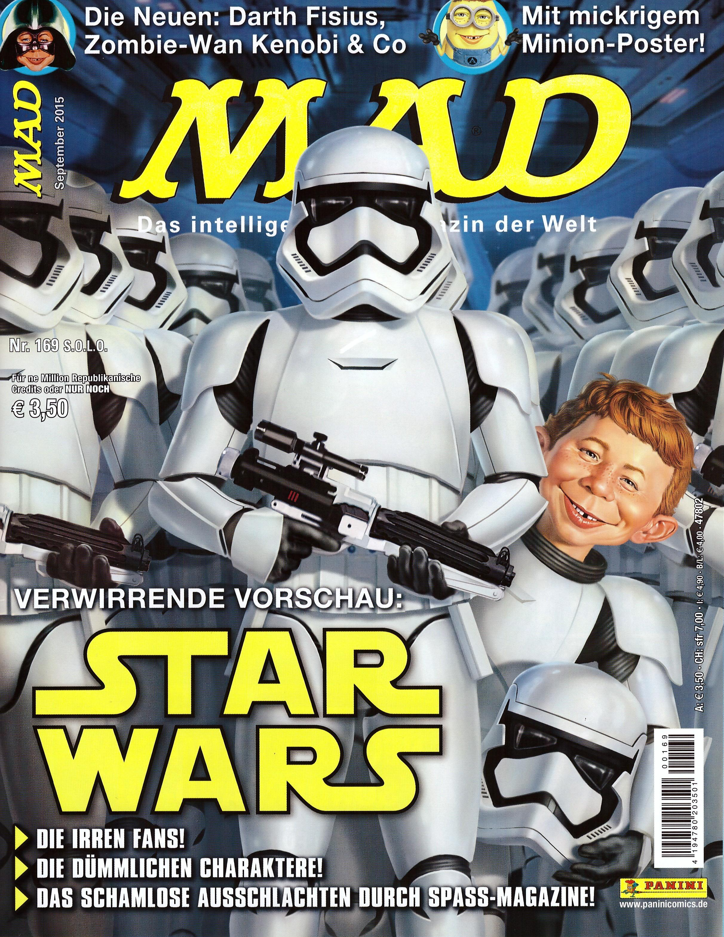 MAD Magazine #169 • Germany • 2nd Edition - Dino/Panini