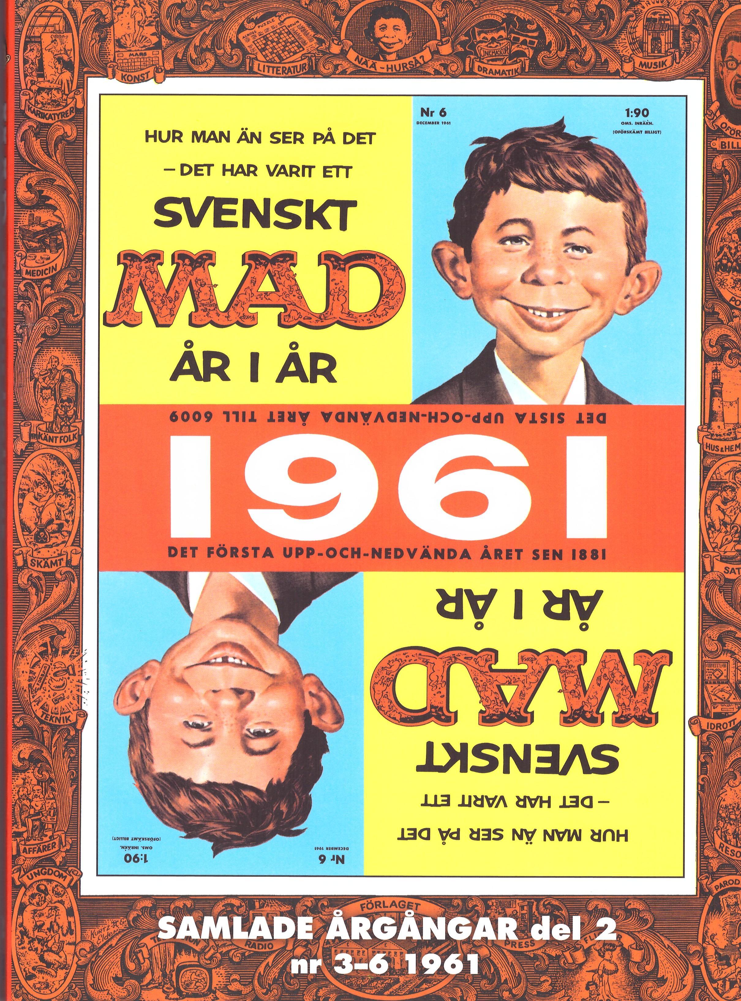 Svenska MAD Samlade årgångar #2 • Sweden
