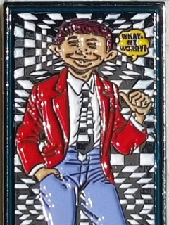 Go to Mini Metal Poster Alfred E. Neuman • USA
