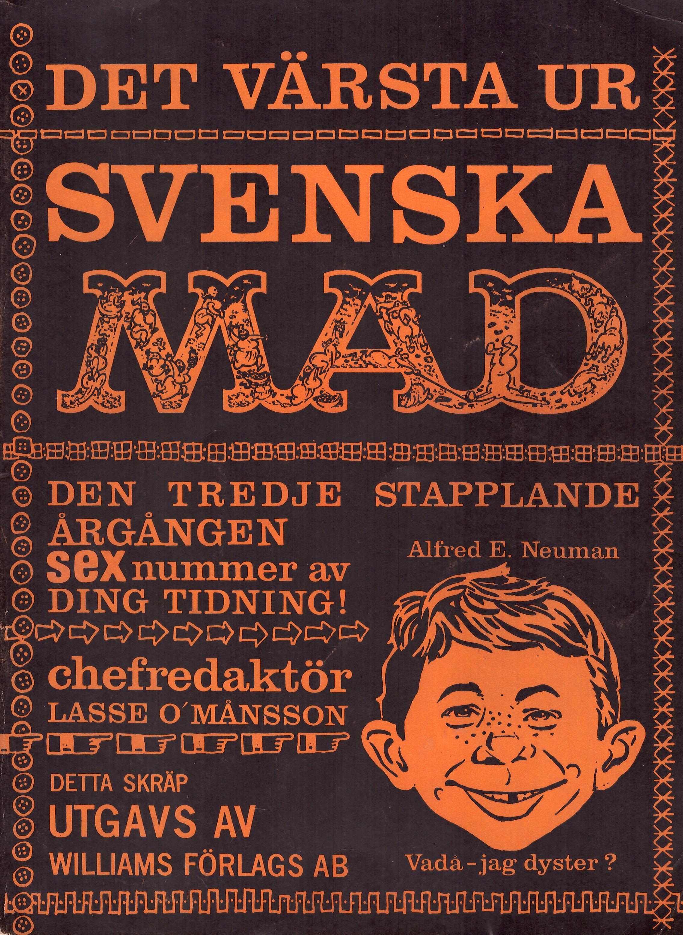 MAD Inbundna årgång #3 • Sweden