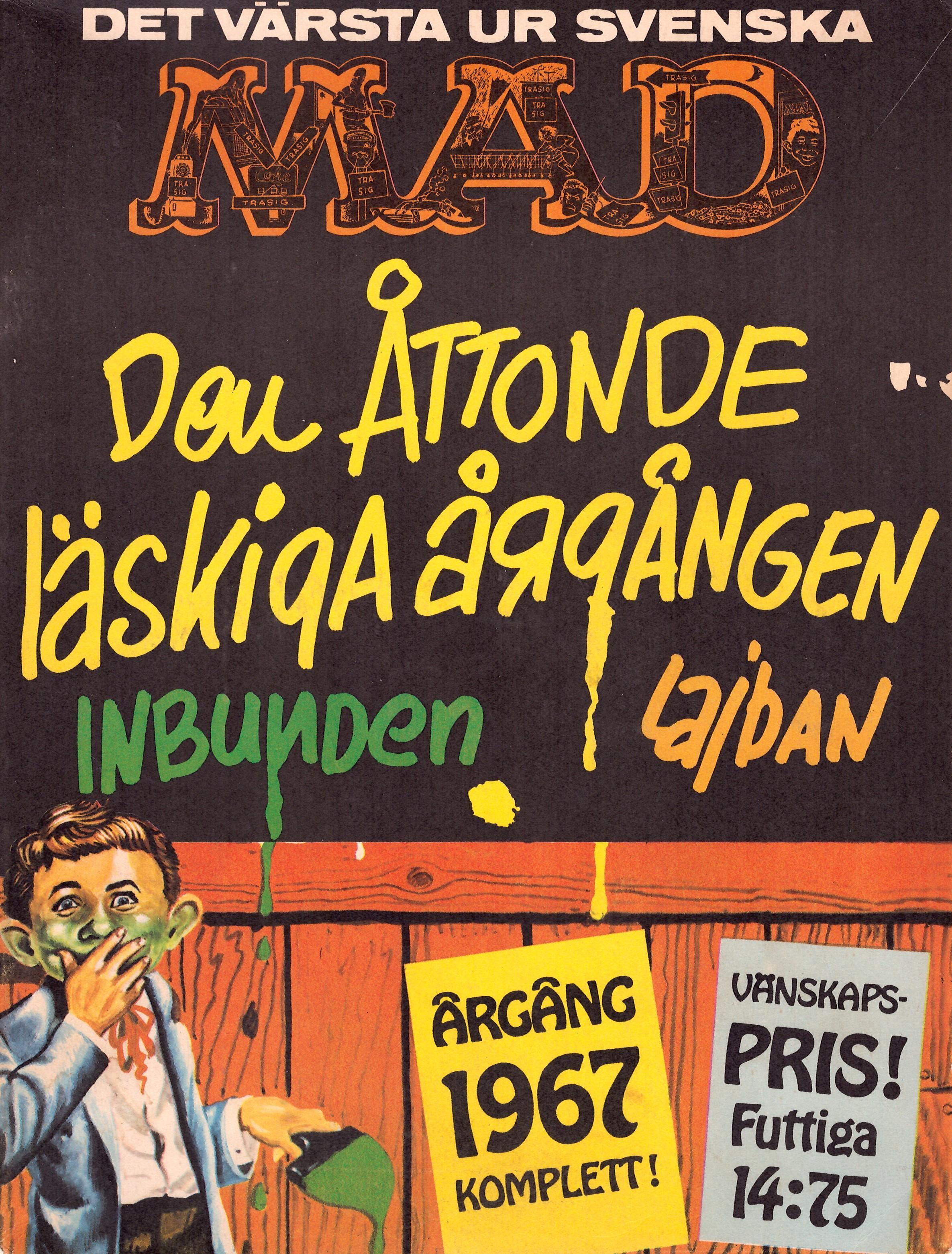 MAD Inbundna årgång #8 • Sweden