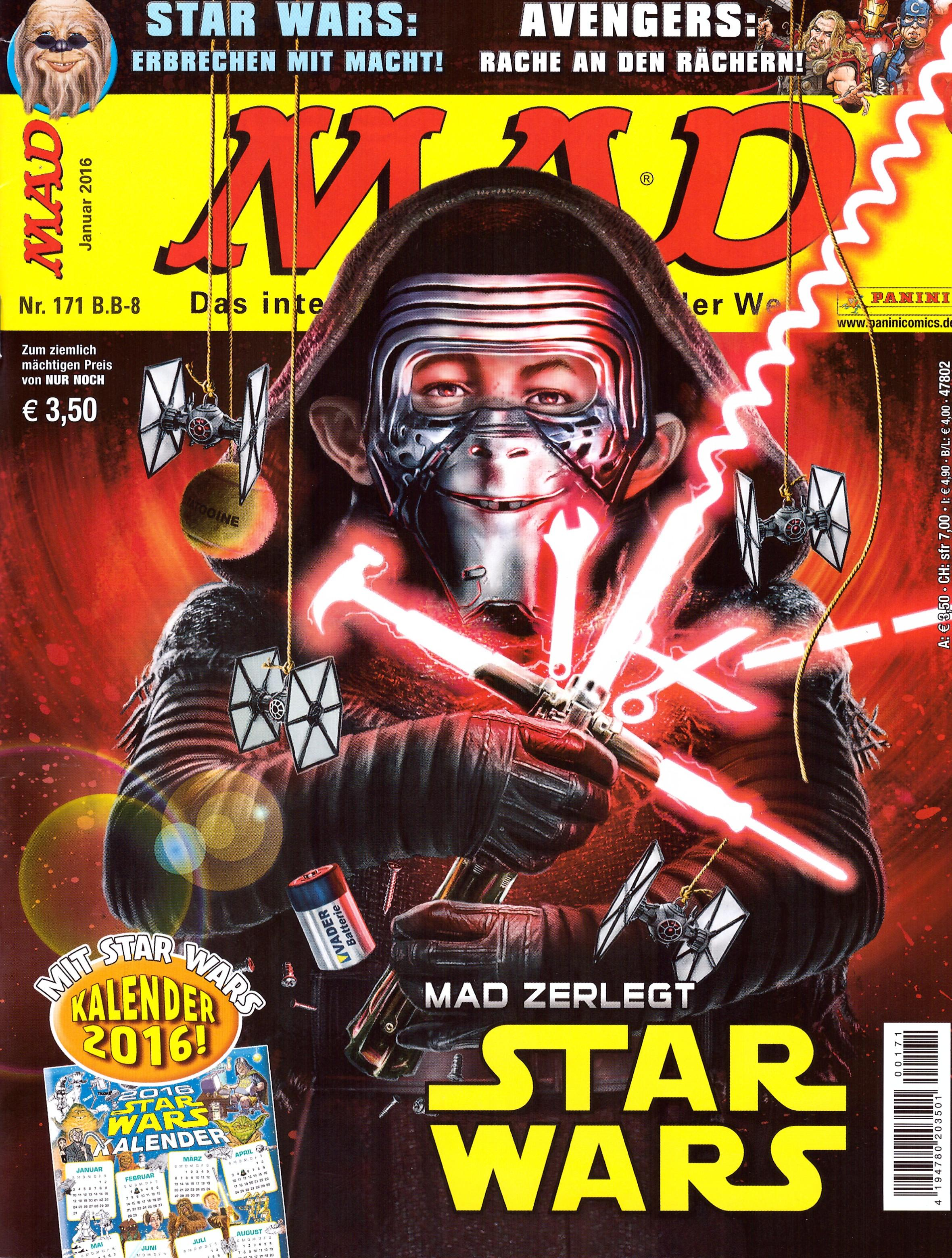 MAD Magazine #171 • Germany • 2nd Edition - Dino/Panini