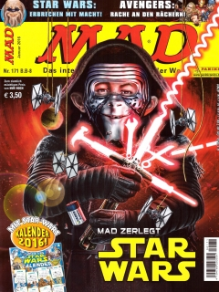 Go to MAD Magazine #171 • Germany • 2nd Edition - Dino/Panini