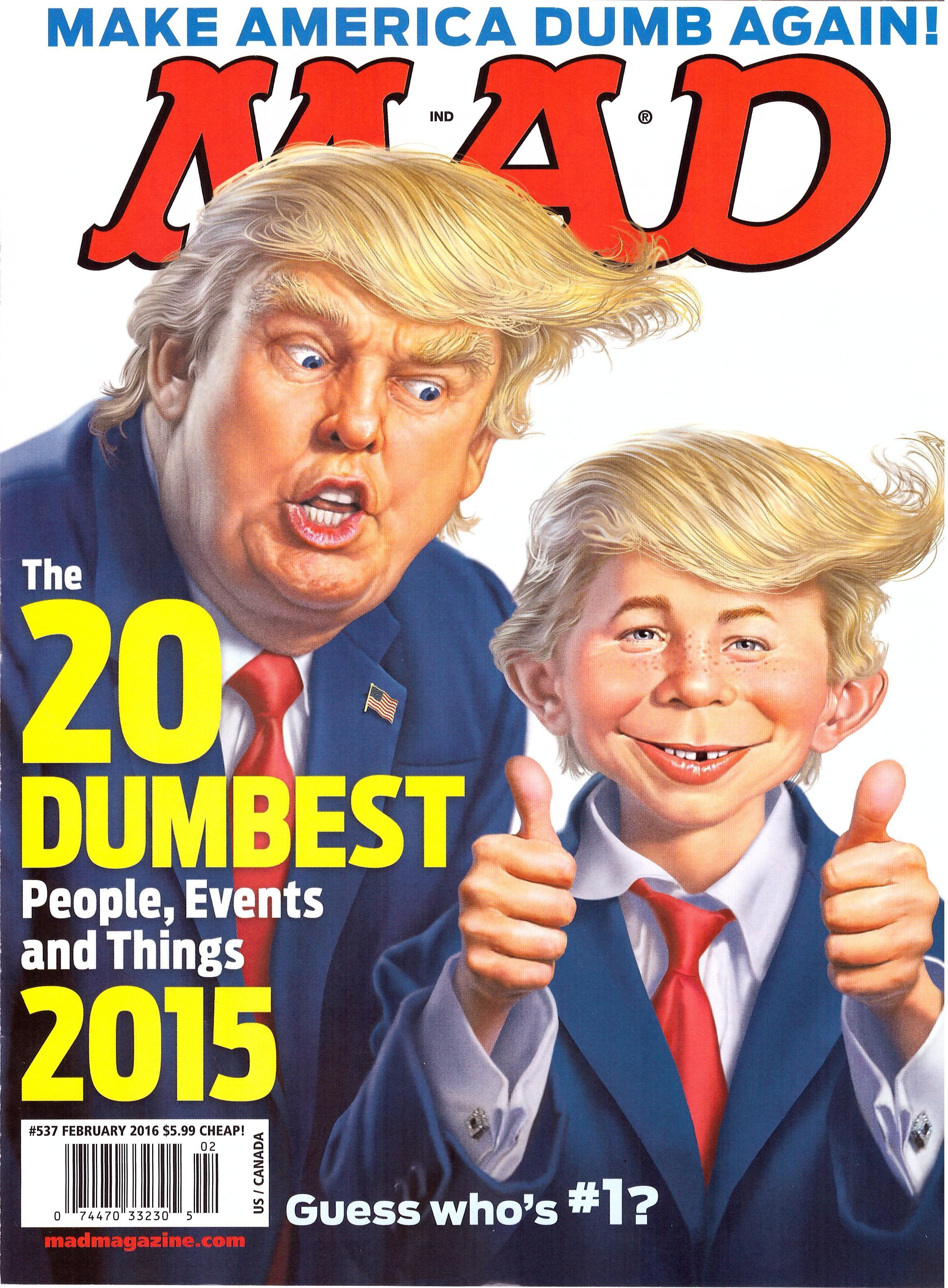 MAD Magazine #537 • USA • 1st Edition - New York