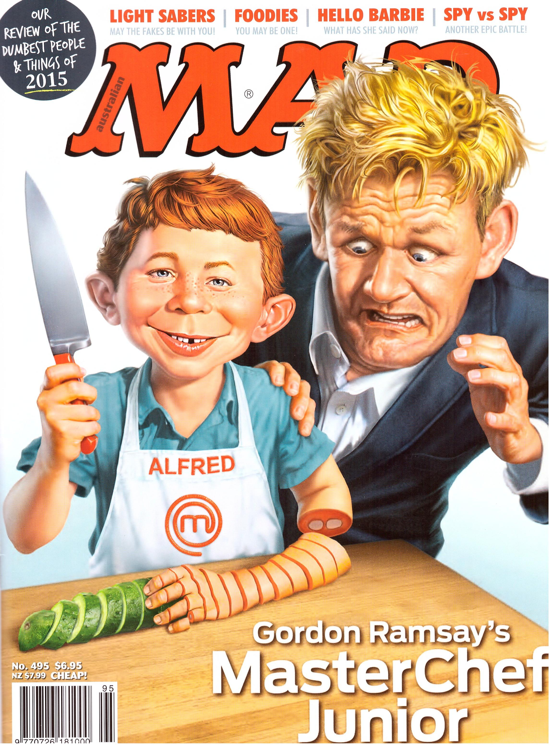 MAD Magazine #495 • Australia