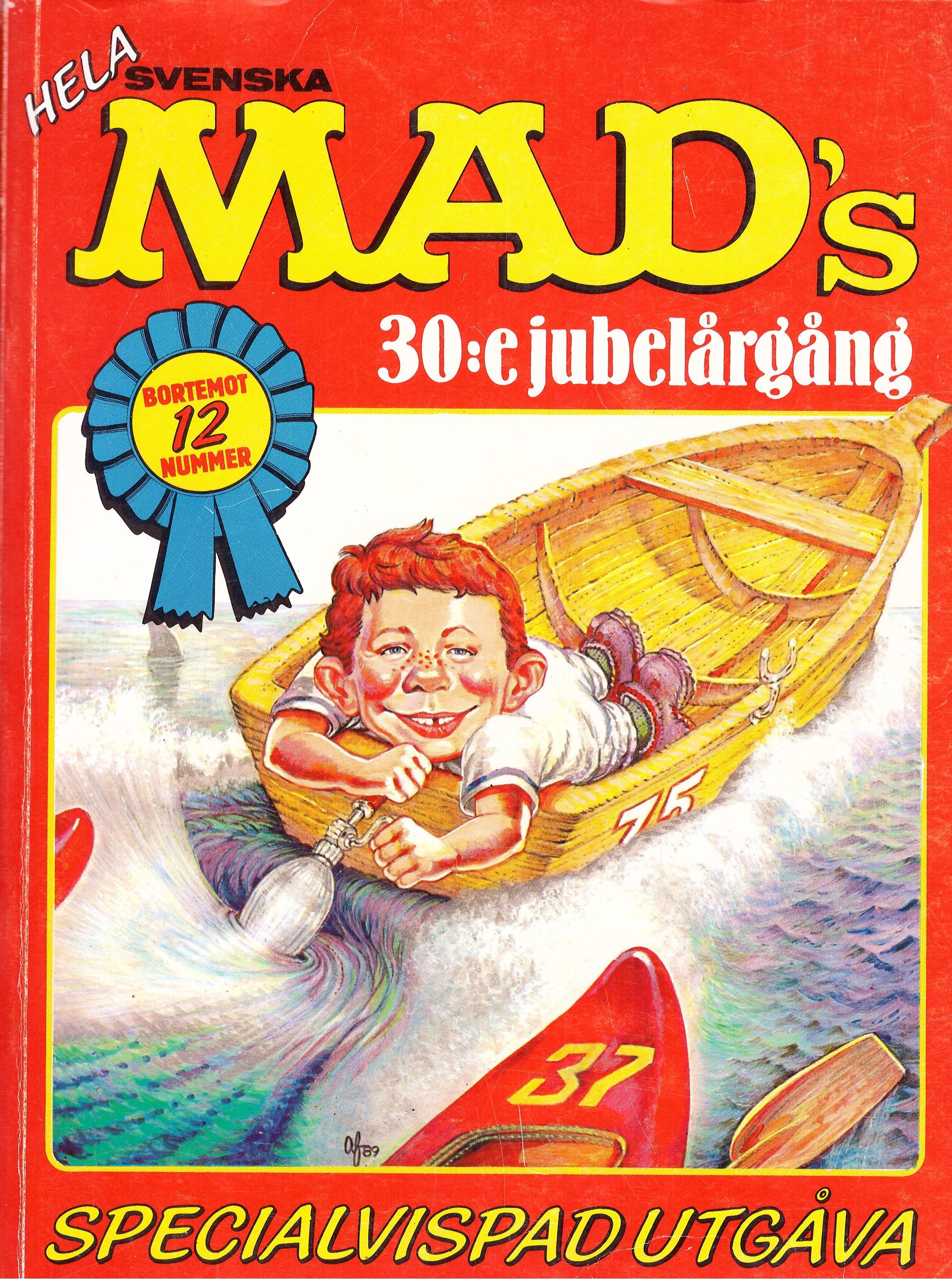 MAD Inbundna årgång #30 • Sweden
