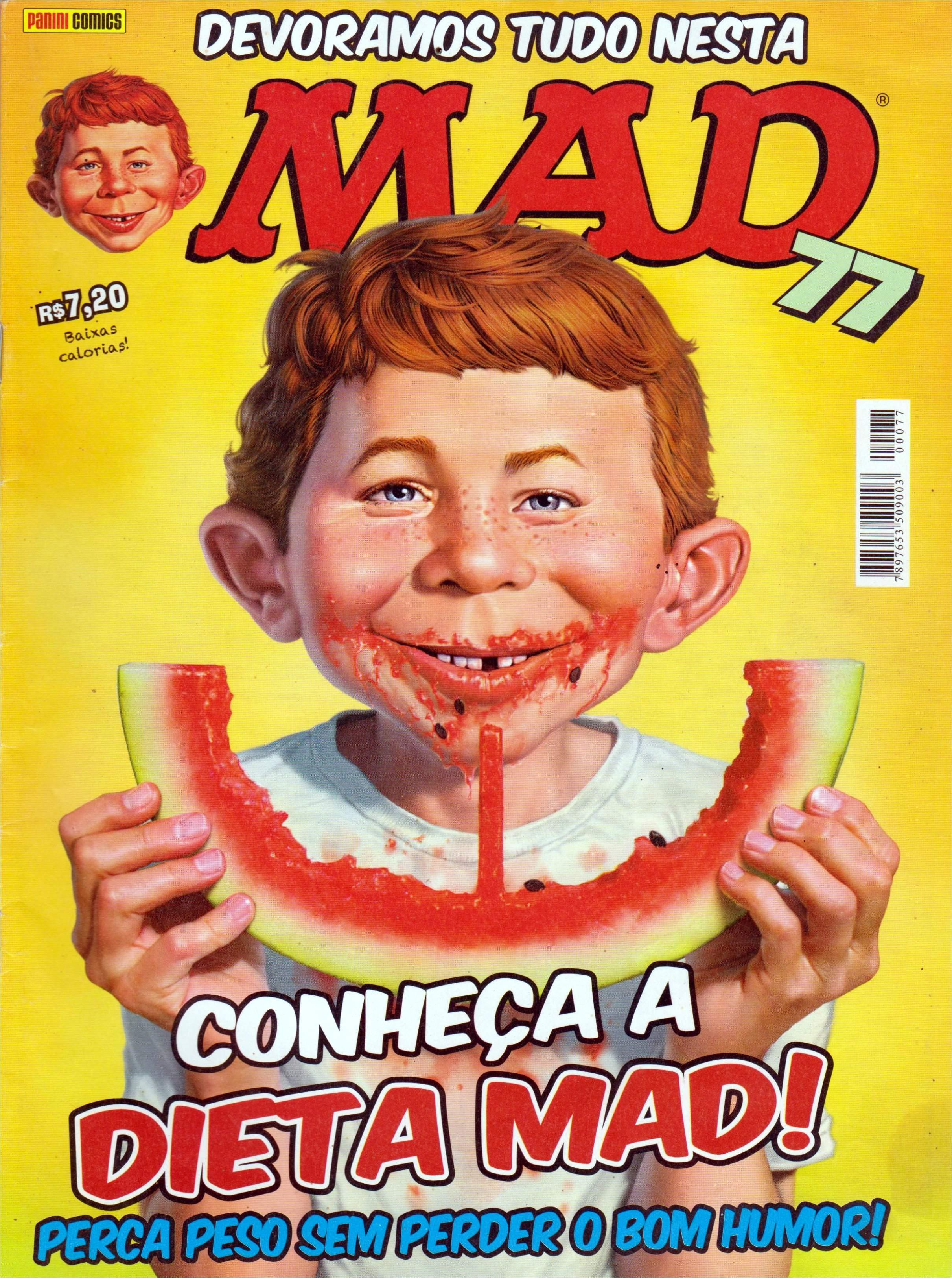 MAD Magazine #77 • Brasil • 4th Edition - Panini