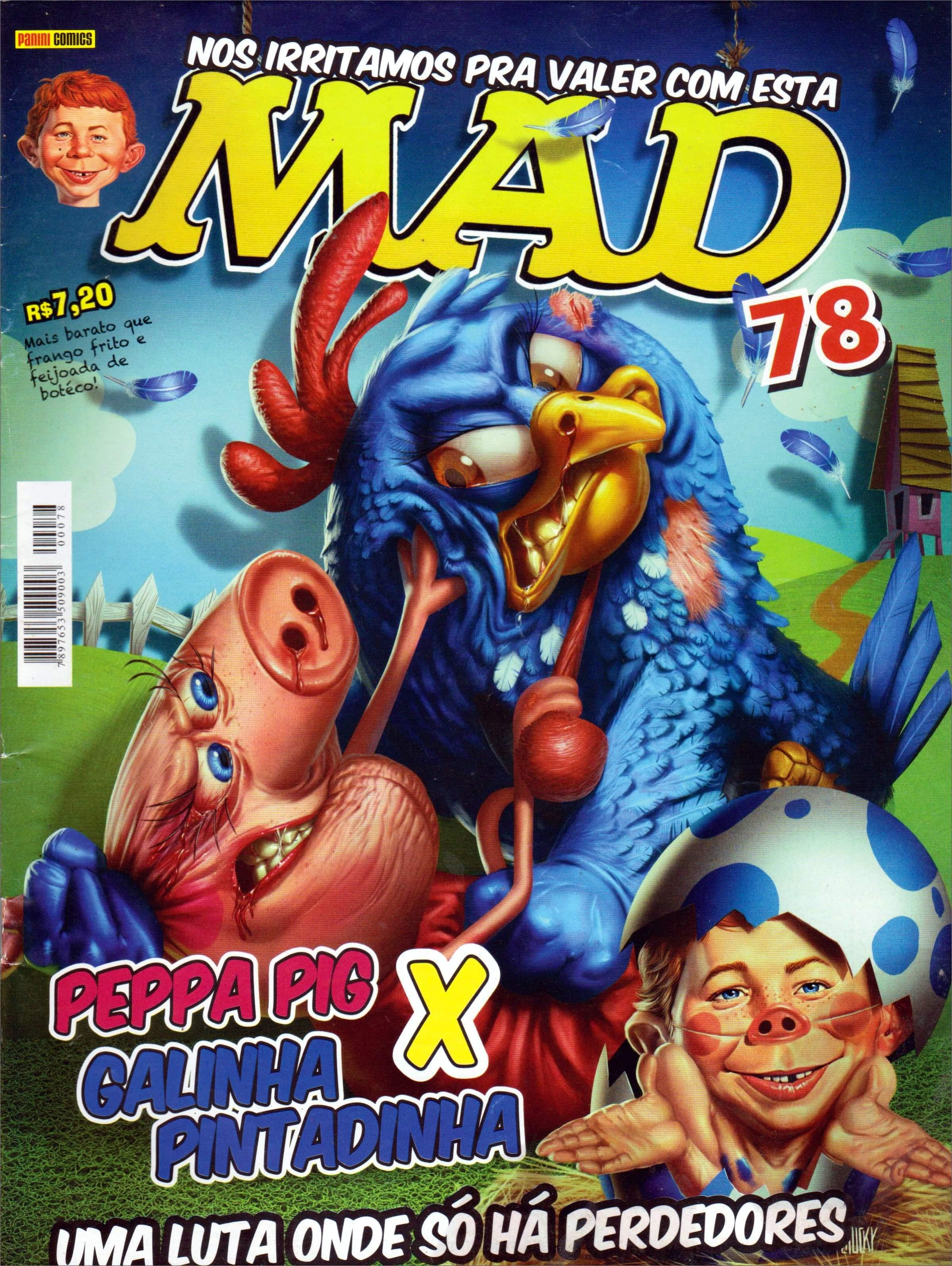 MAD Magazine #78 • Brasil • 4th Edition - Panini