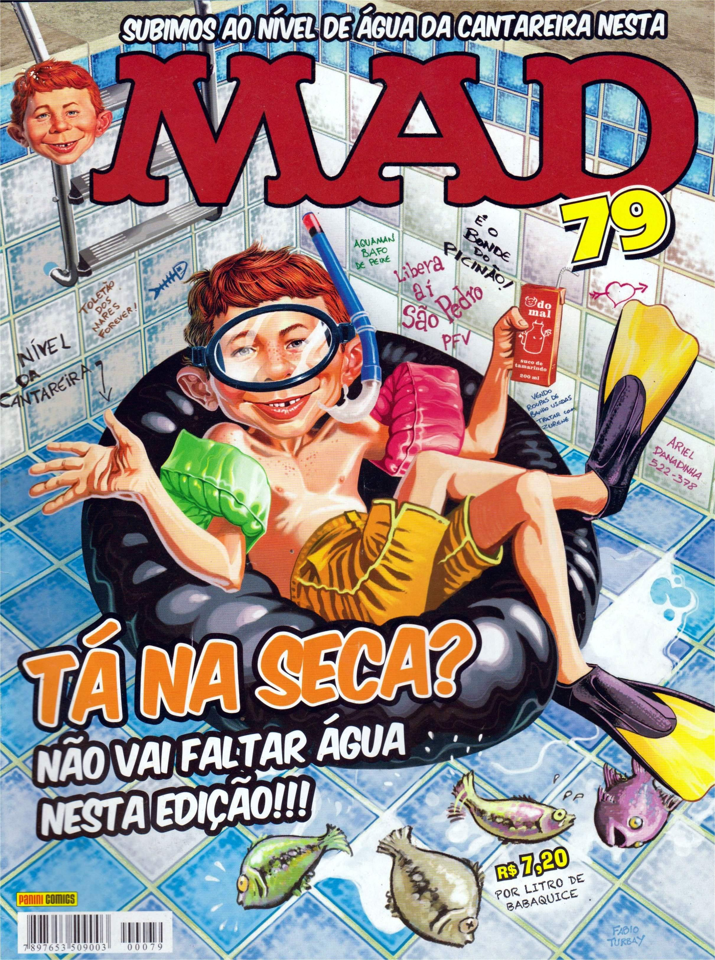 MAD Magazine #79 • Brasil • 4th Edition - Panini