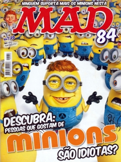 MAD Magazine #84 • Brasil • 4th Edition - Panini