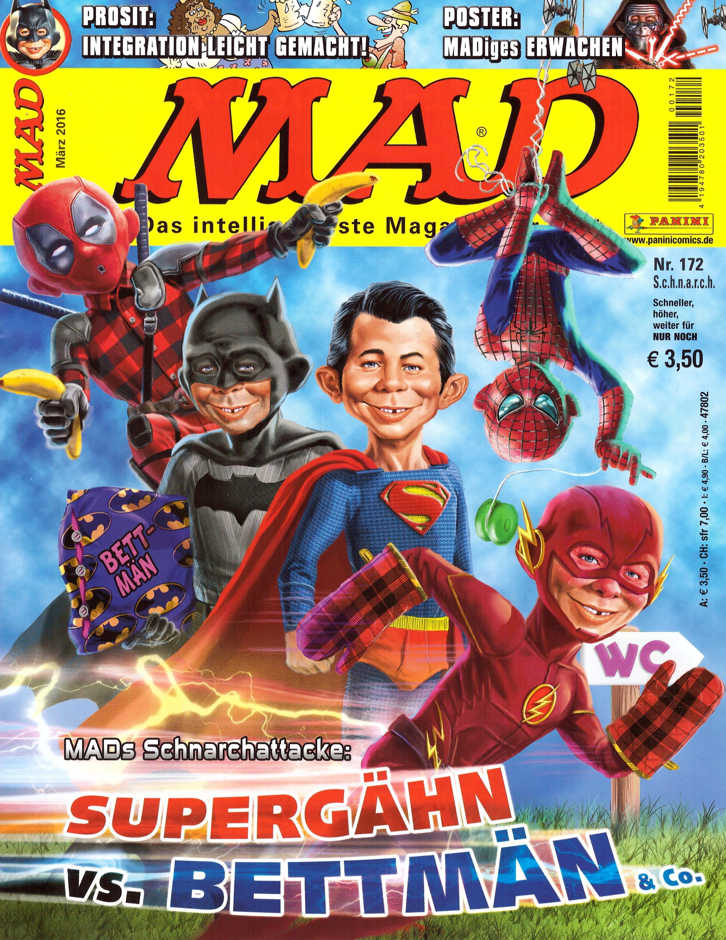 MAD Magazine #172 • Germany • 2nd Edition - Dino/Panini