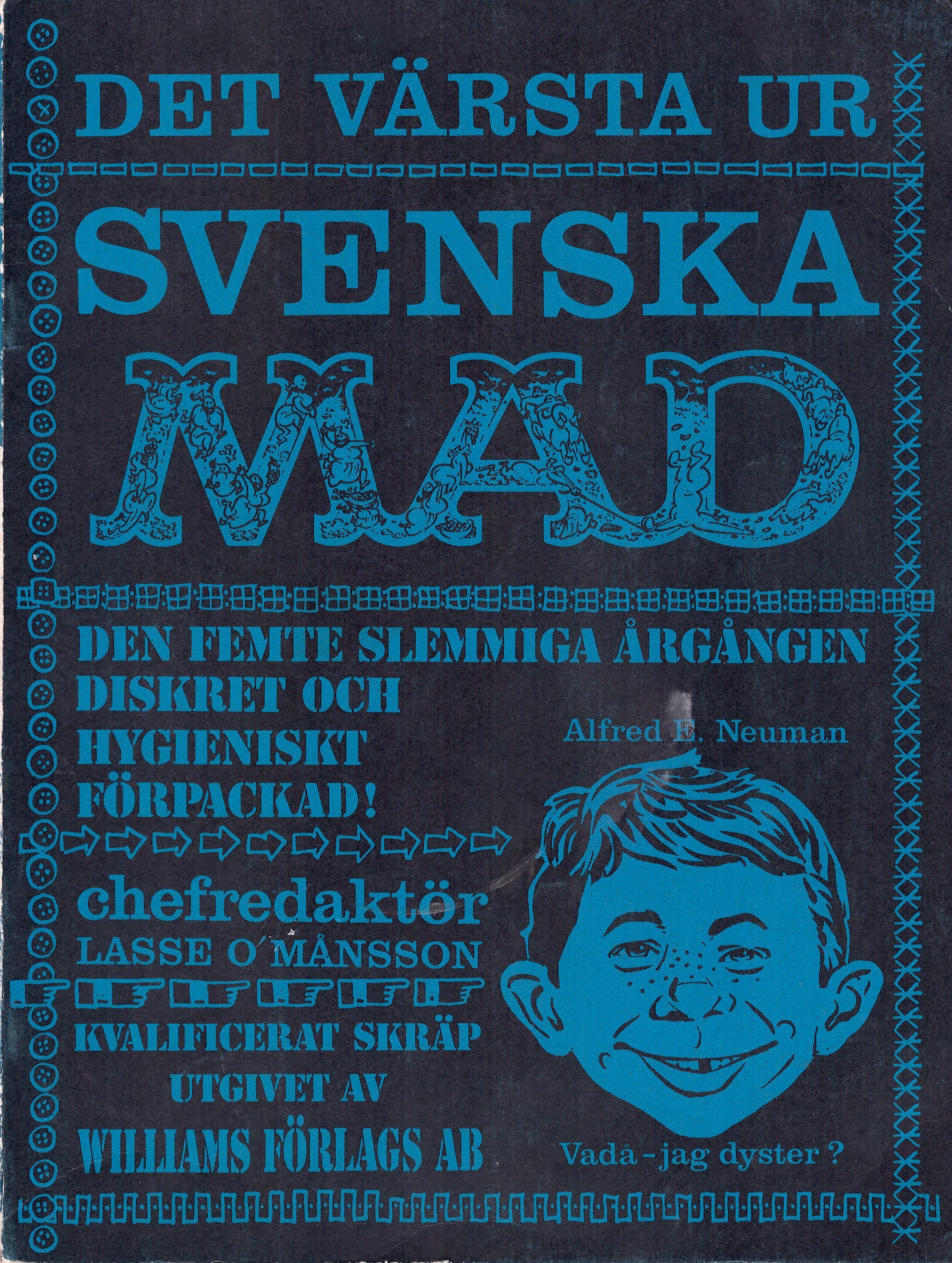 MAD Inbundna årgång #5 • Sweden