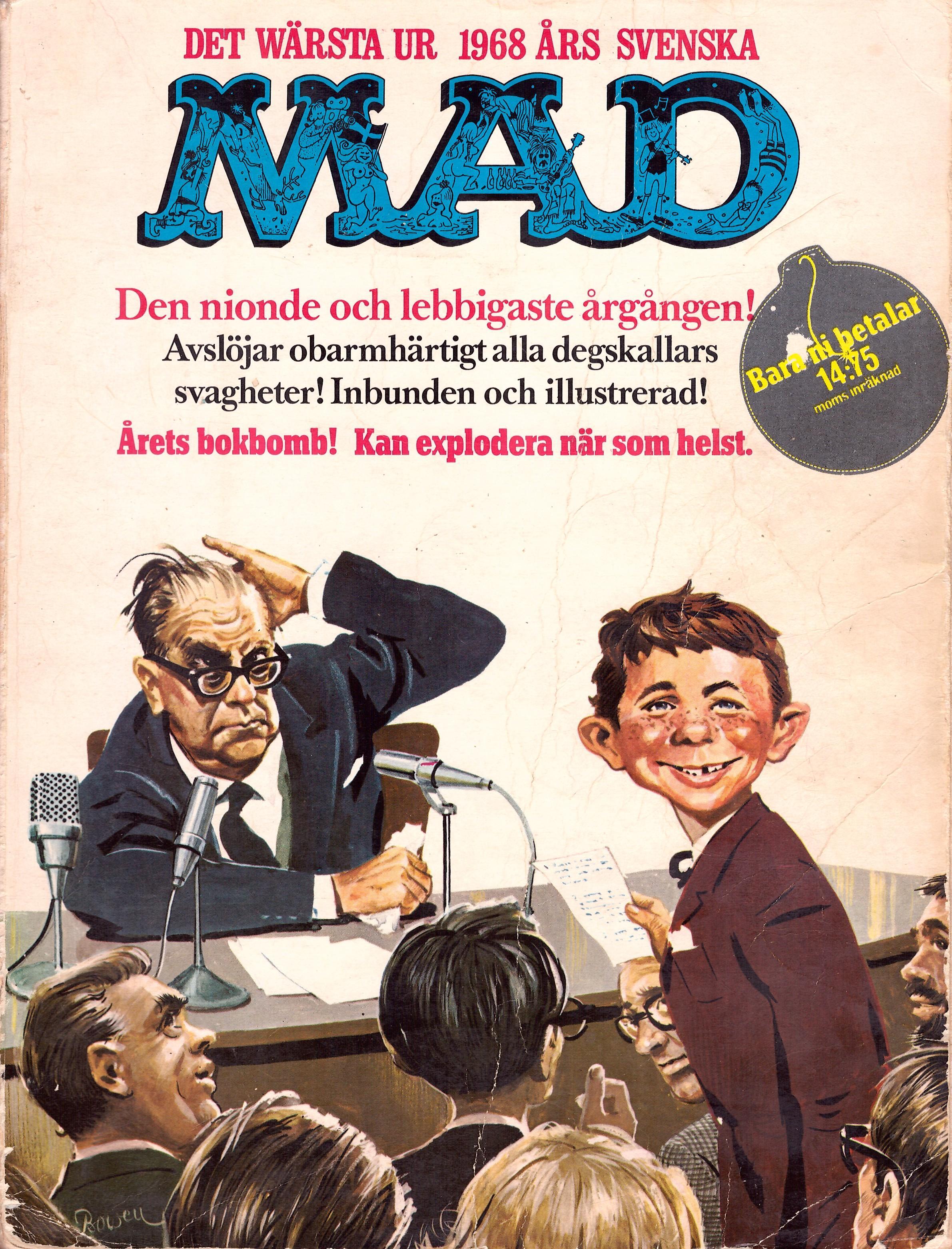 MAD Inbundna årgång #9 • Sweden