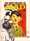 Swedish MAD Inbundna årgång #12 Original price: 18:50 kr Publication Date: 1972
