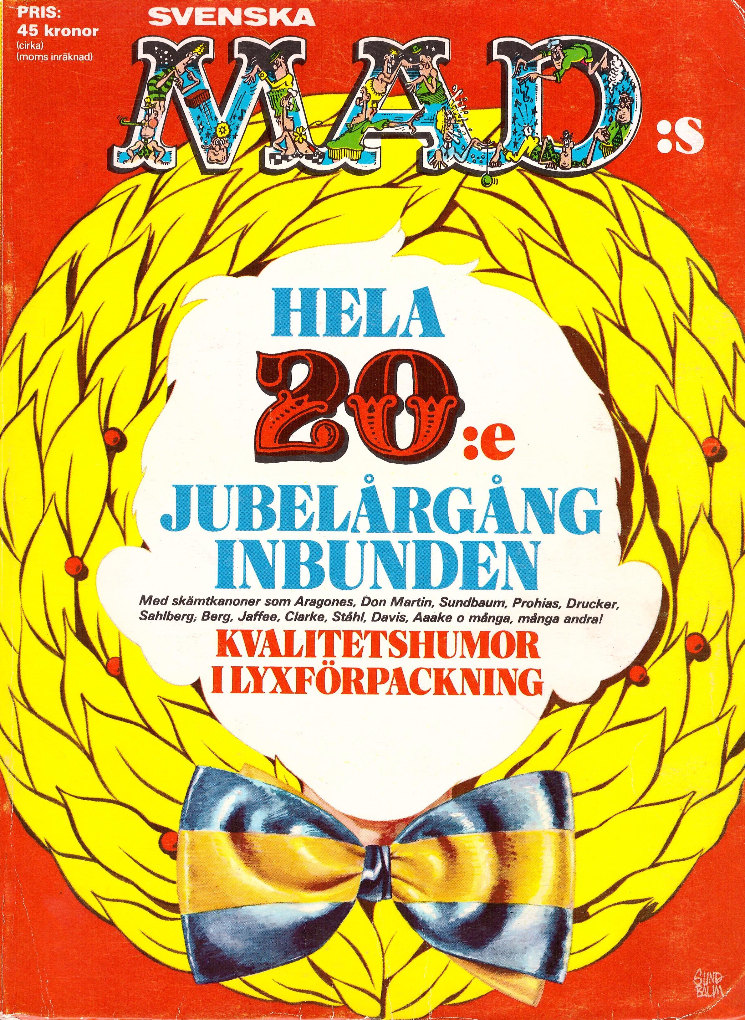 MAD Inbundna årgång #20 • Sweden