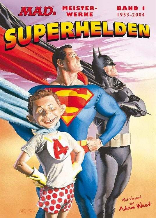 MAD's Meisterwerke: Superhelden #1 • Germany • 2nd Edition - Dino/Panini