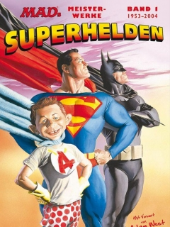Go to MAD's Meisterwerke: Superhelden #1 • Germany • 2nd Edition - Dino/Panini