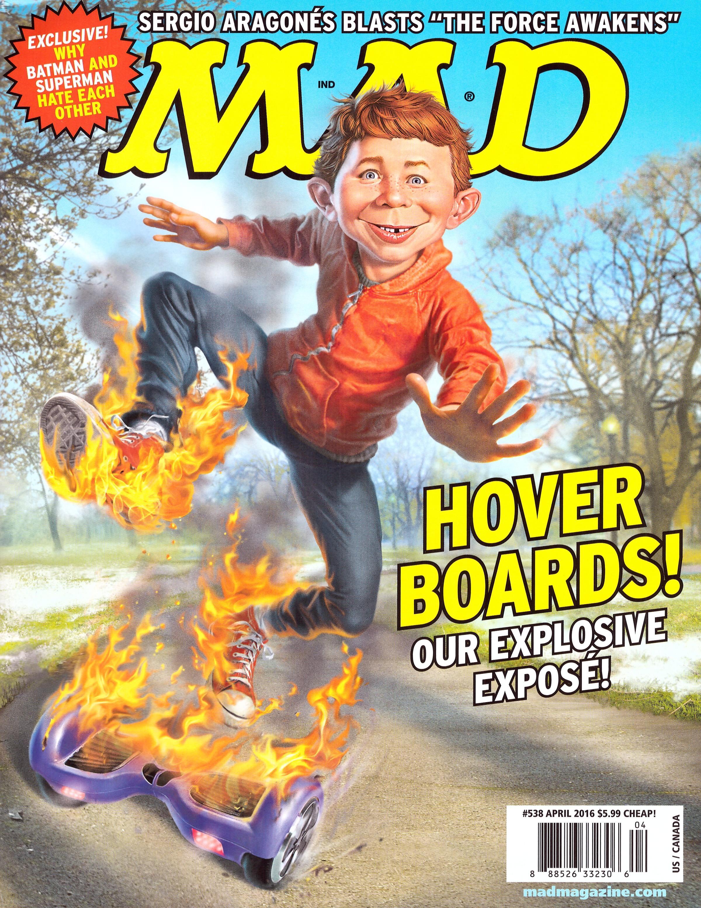 MAD Magazine #538 • USA • 1st Edition - New York