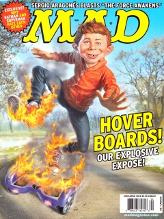 Go to MAD Magazine #538 • USA • 1st Edition - New York