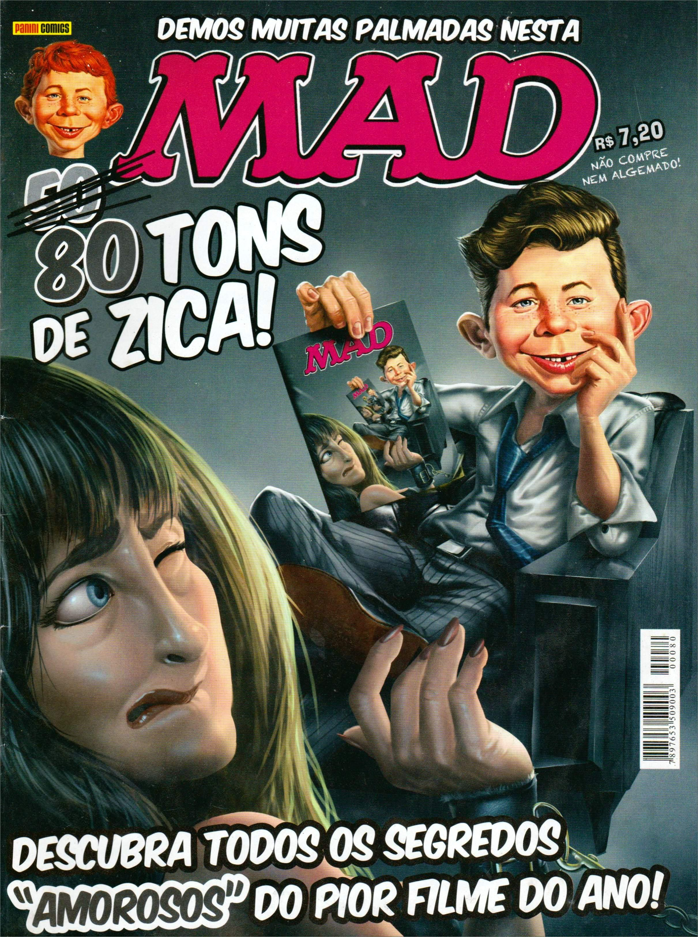 MAD Magazine #80 • Brasil • 4th Edition - Panini