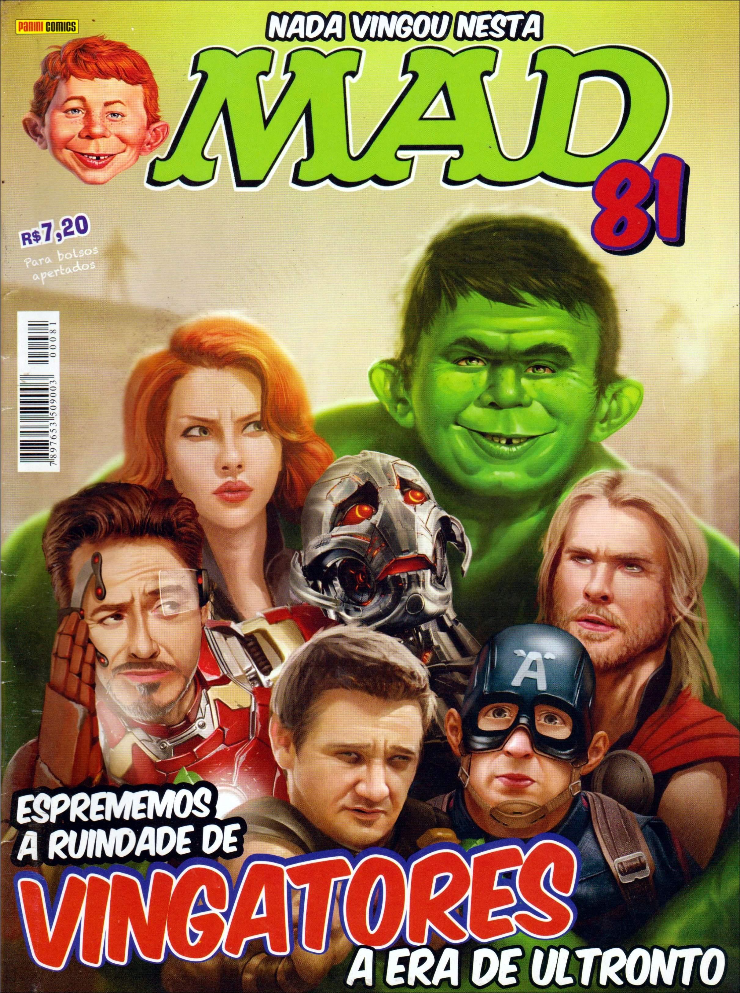 MAD Magazine #81 • Brasil • 4th Edition - Panini