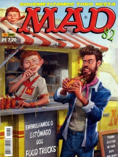 MAD Magazine #82 • Brasil • 4th Edition - Panini