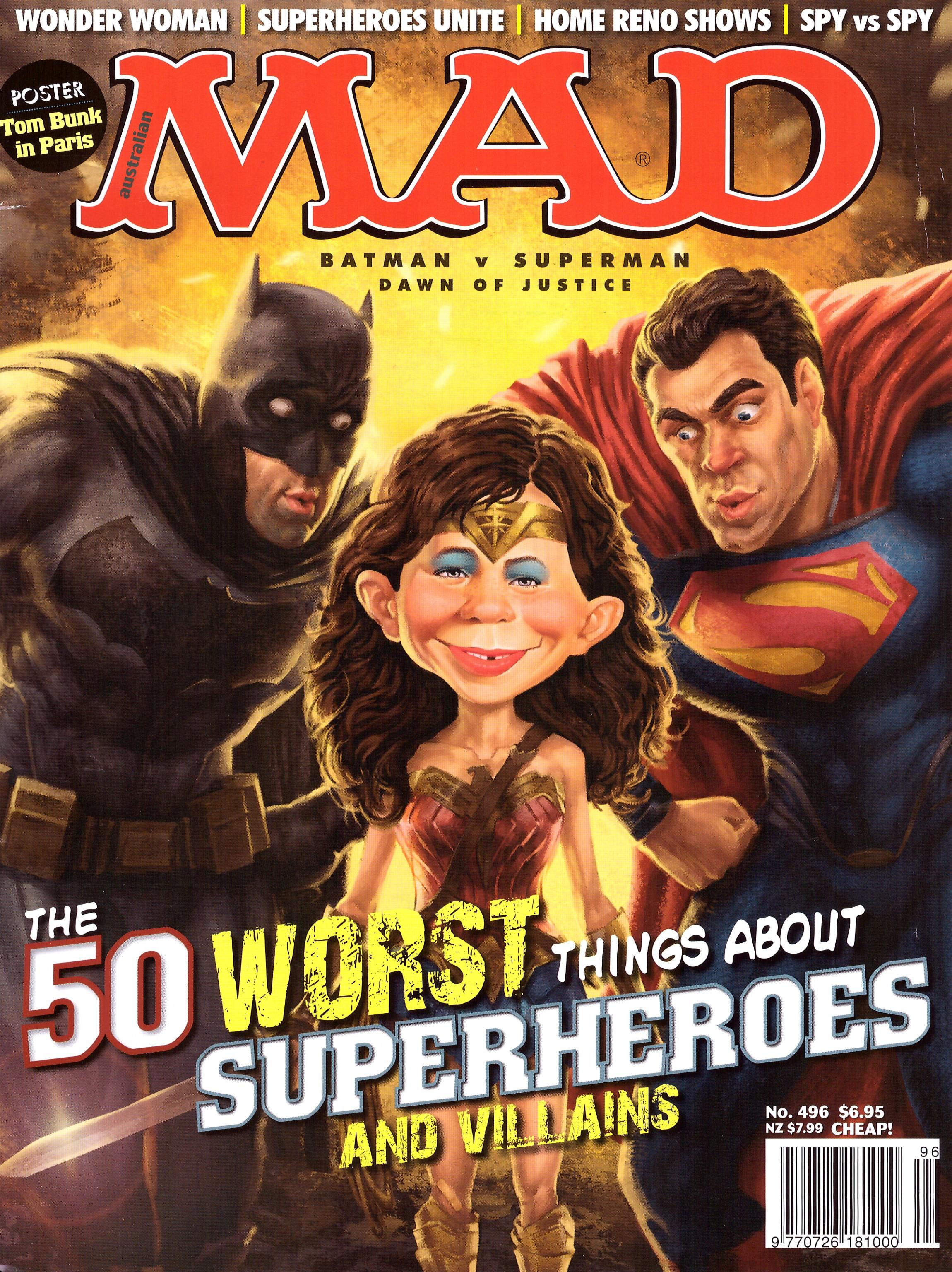MAD Magazine #496 • Australia