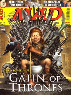 Go to MAD Magazine #173 • Germany • 2nd Edition - Dino/Panini