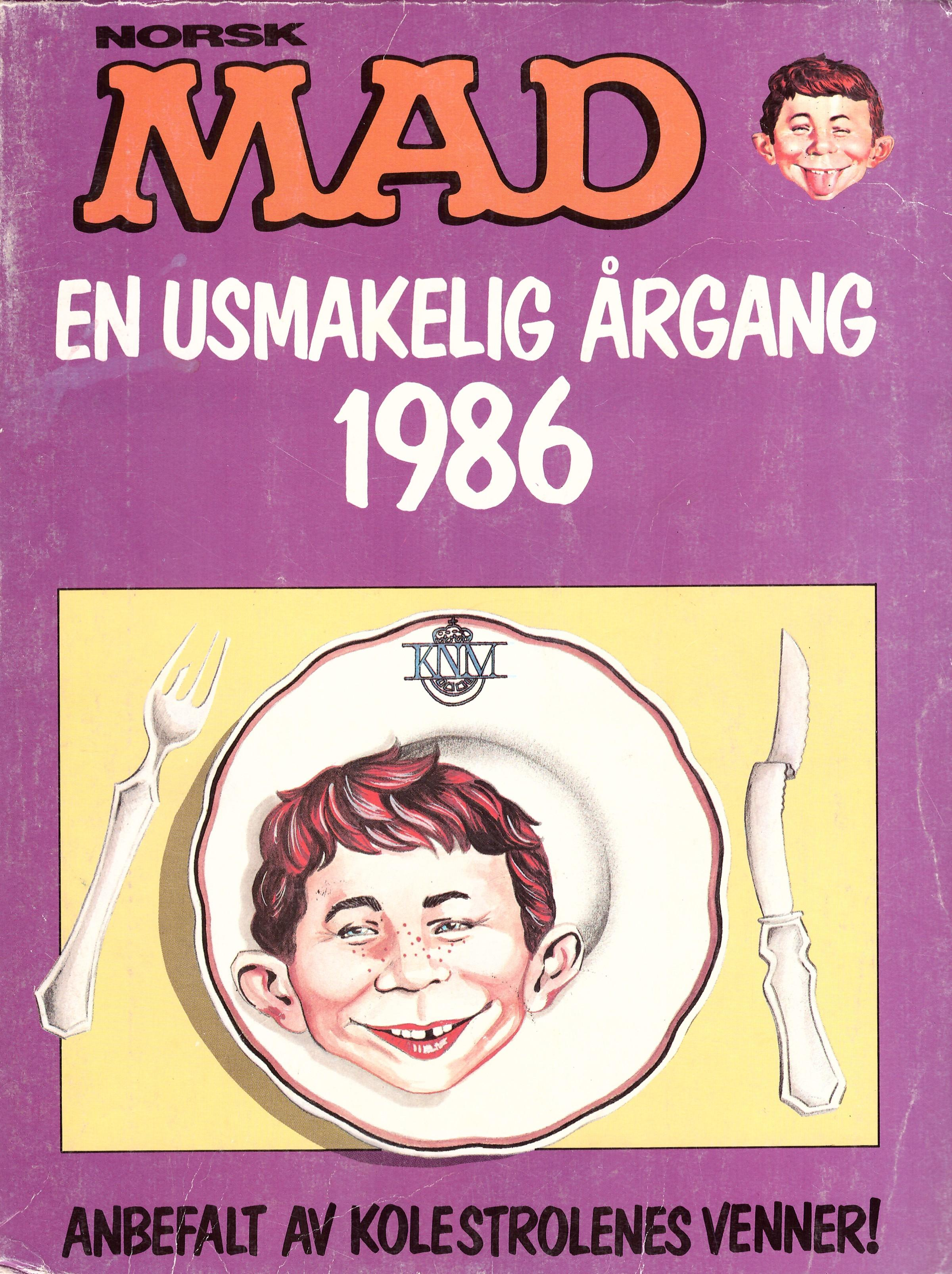 MAD Årgang Bound Volumes #5 • Norway • 1st Edition - Williams
