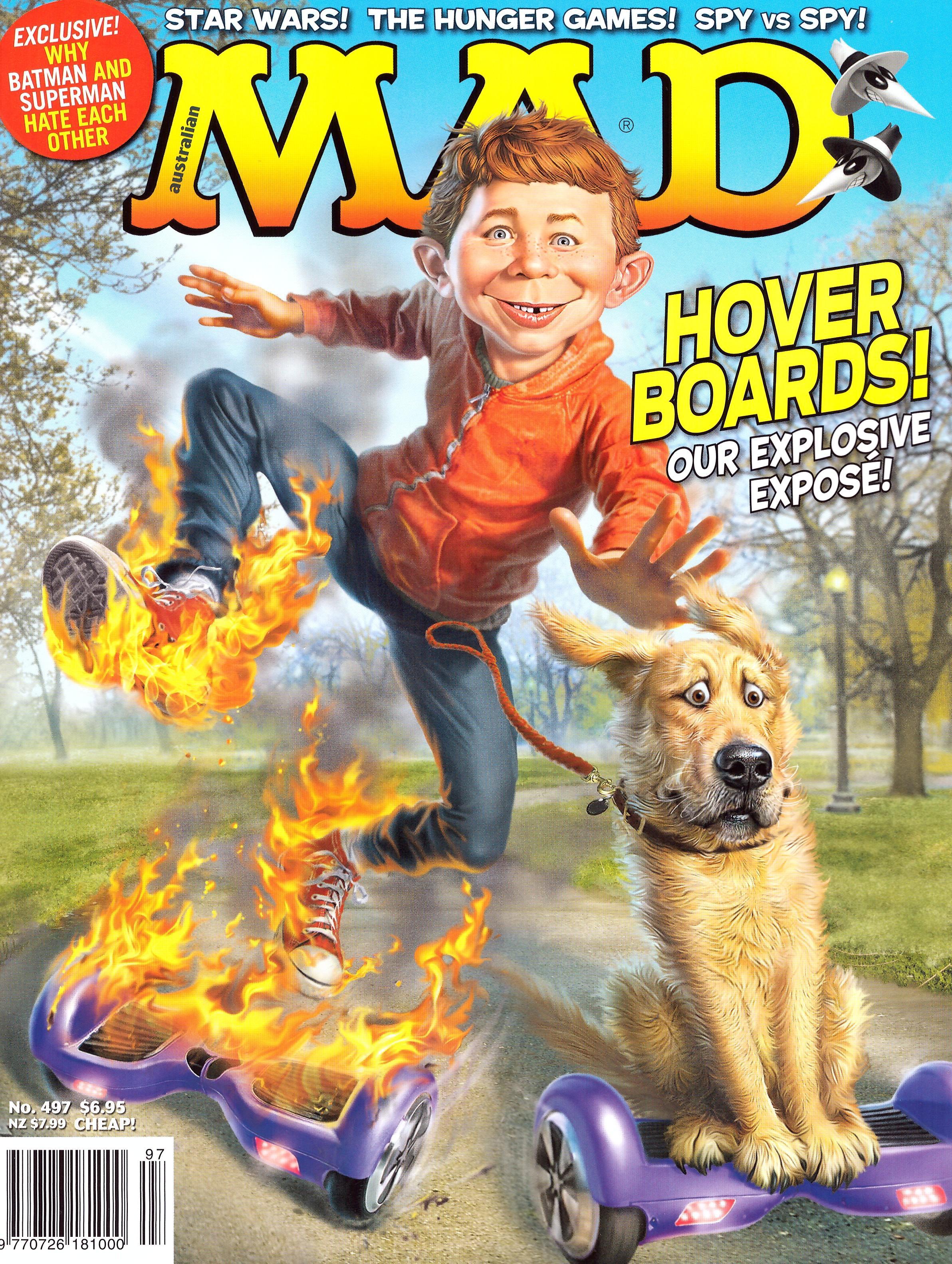MAD Magazine #497 • Australia