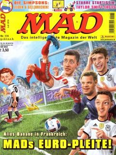 Go to MAD Magazine #174 • Germany • 2nd Edition - Dino/Panini