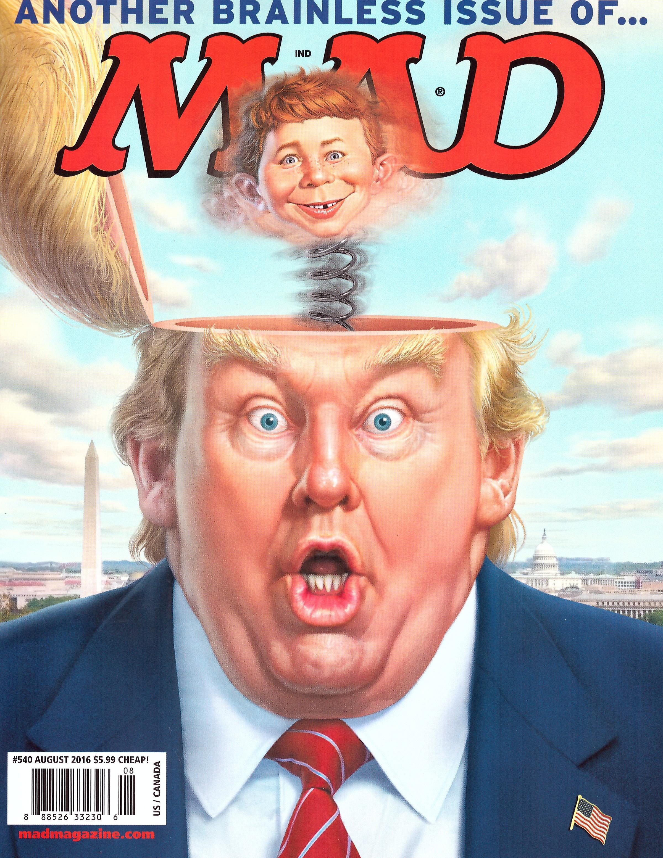 MAD Magazine #540 • USA • 1st Edition - New York