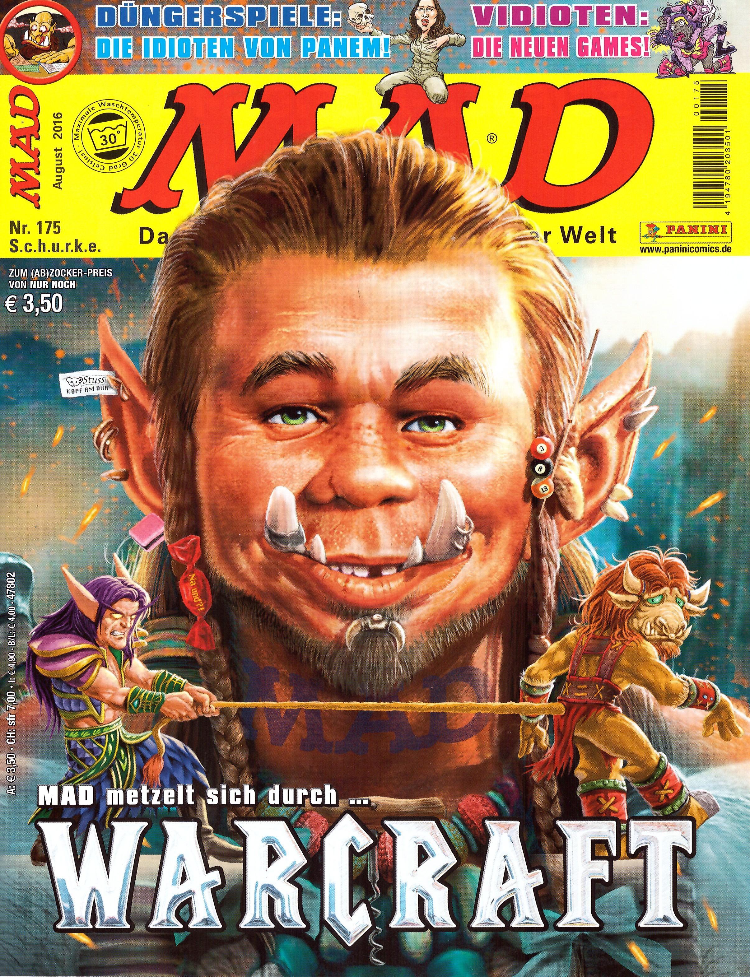 MAD Magazine #175 • Germany • 2nd Edition - Dino/Panini