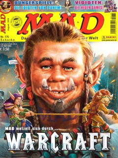 Go to MAD Magazine #175 • Germany • 2nd Edition - Dino/Panini