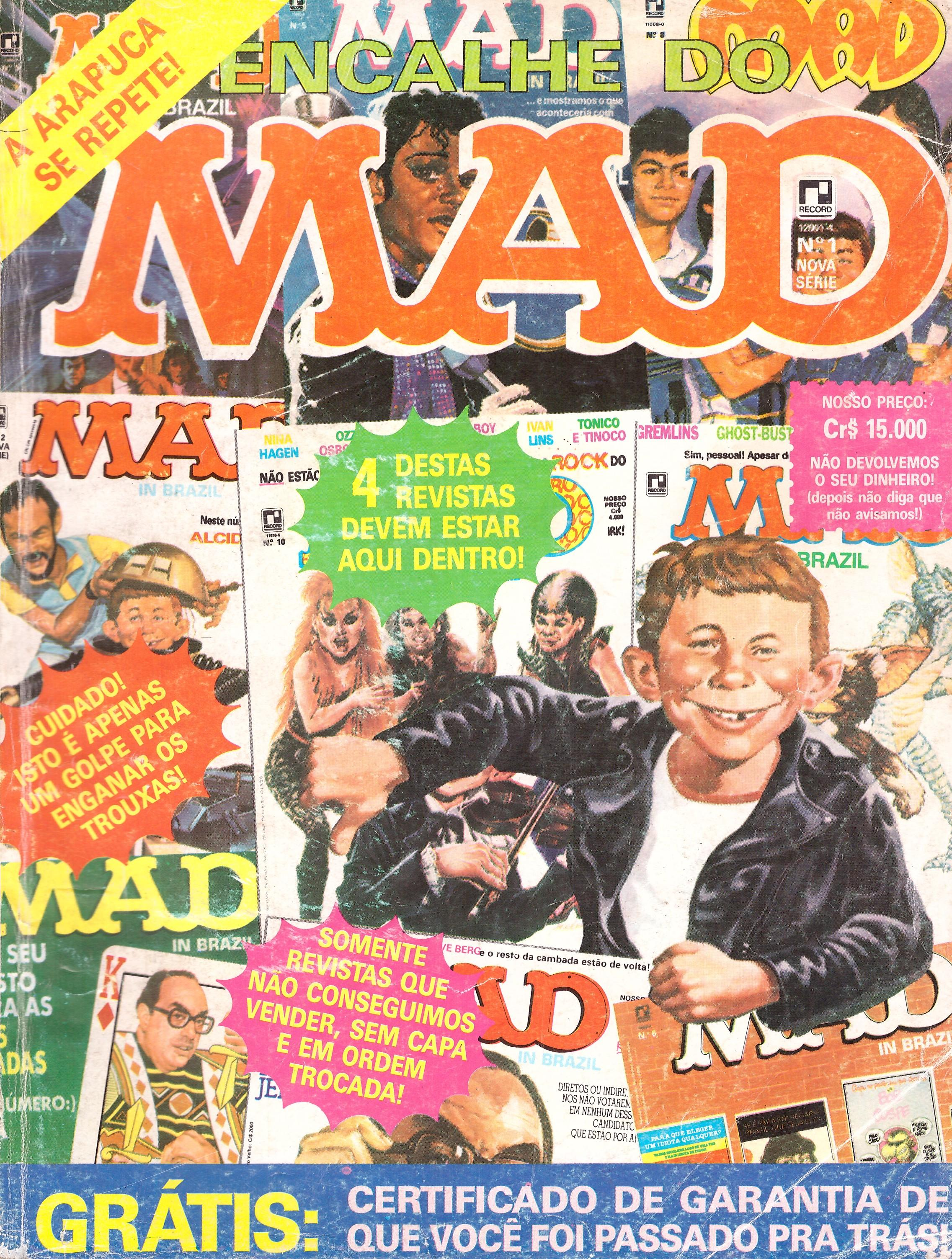 Encalhe do MAD (Record) #1 • Brasil • 2nd Edition - Record