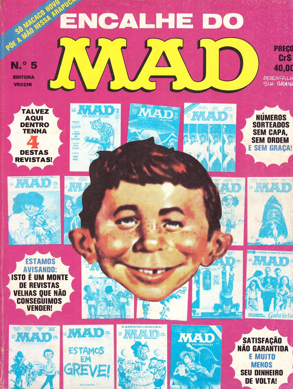 Encalhe do MAD (Vecchi) #5 • Brasil • 1st Edition - Veechi