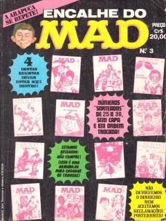 Go to Encalhe do MAD (Vecchi) #3 • Brasil • 1st Edition - Veechi