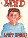 Image of Back cover with MAD Magazine / Alfred E. Neuman spoof