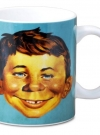 Image of Alfred E. Neuman coffee mug front view