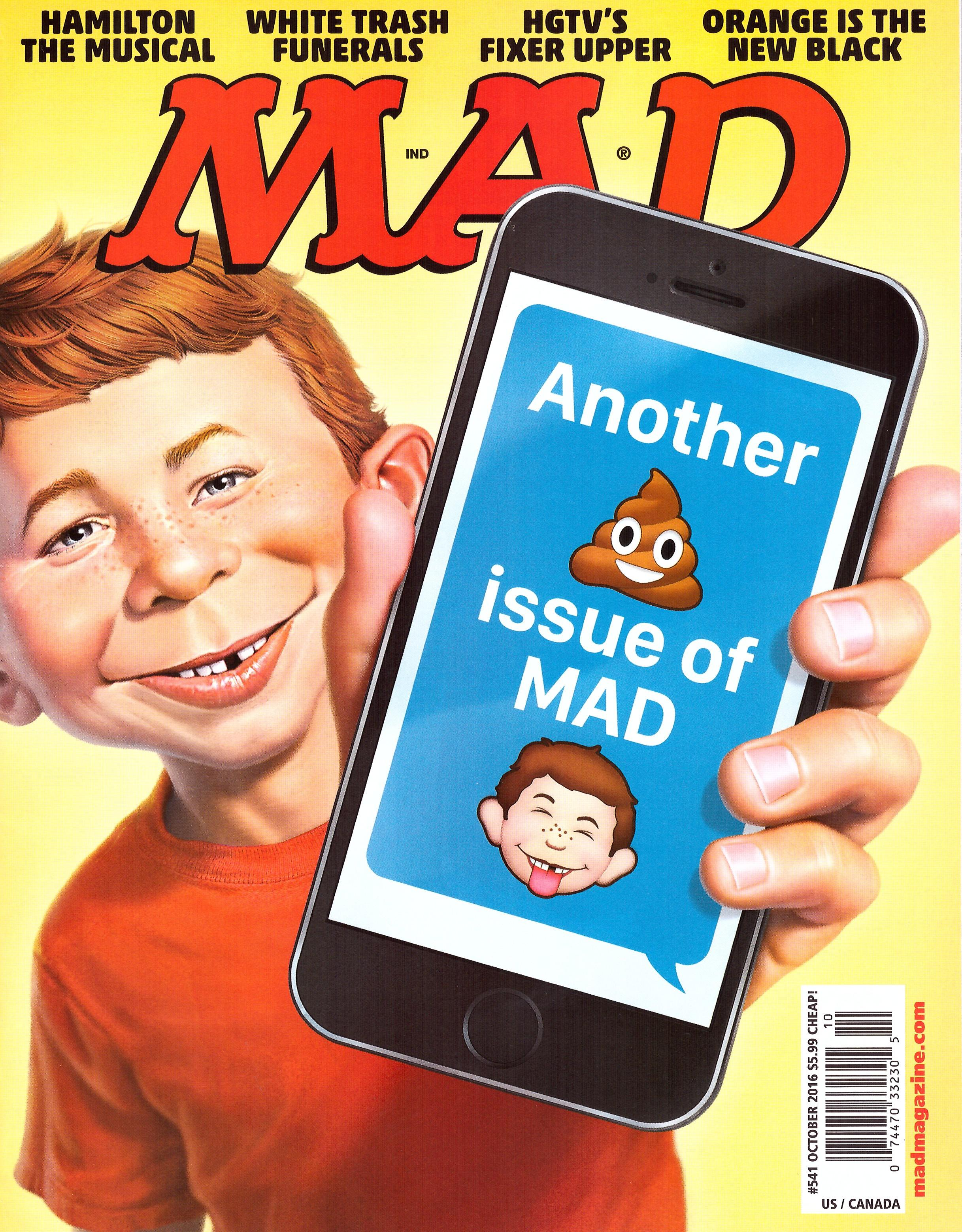 MAD Magazine #541 • USA • 1st Edition - New York