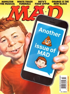 Go to MAD Magazine #541 • USA • 1st Edition - New York