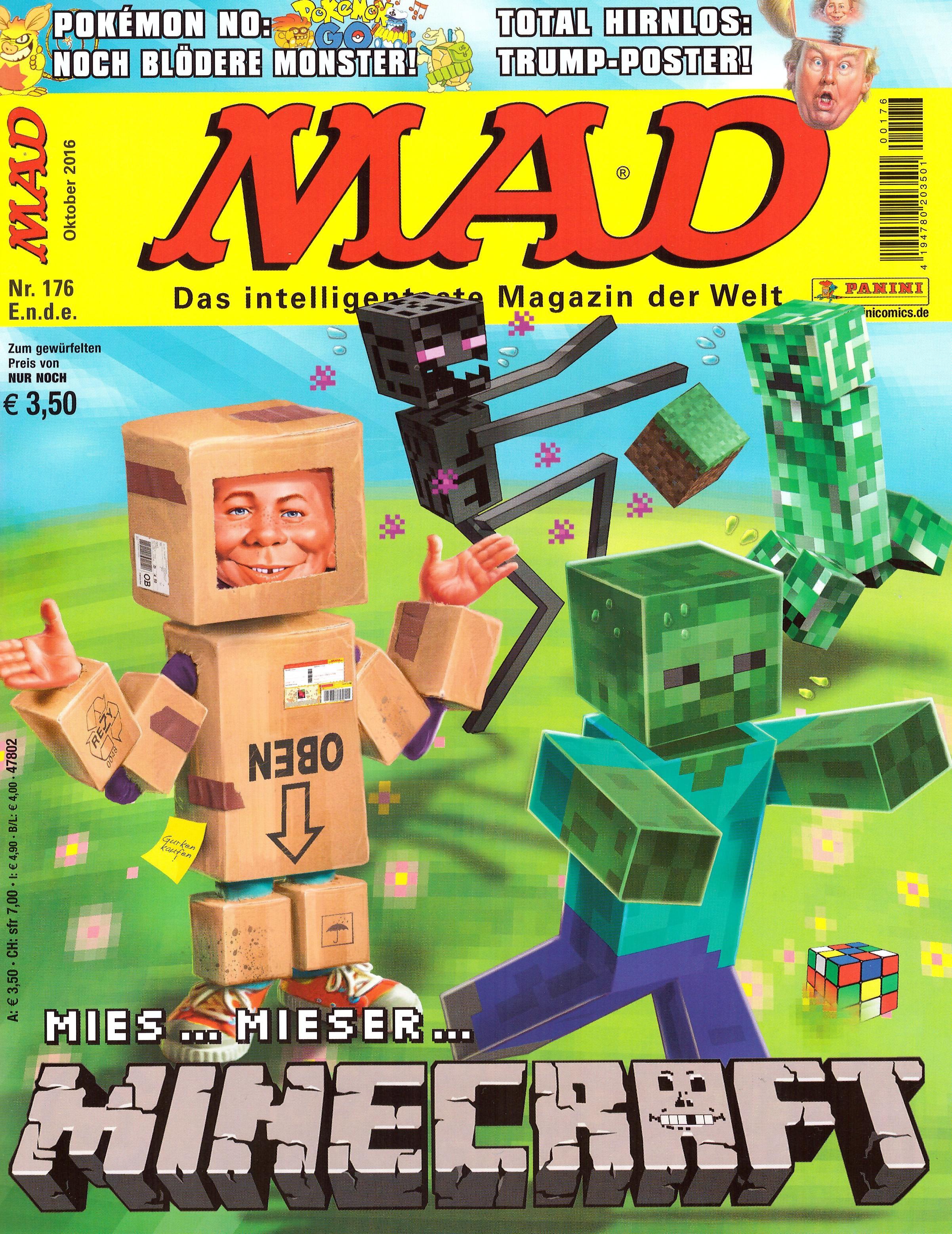 MAD Magazine #176 • Germany • 2nd Edition - Dino/Panini