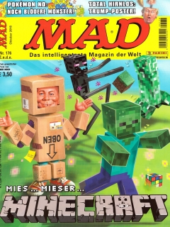 Go to MAD Magazine #176 • Germany • 2nd Edition - Dino/Panini