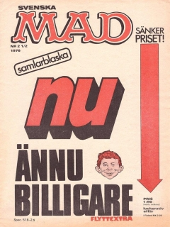 Go to MAD Magazine #2.5 1975 • Sweden