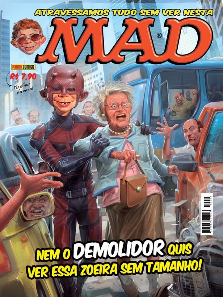 MAD Magazine #85 • Brasil • 4th Edition - Panini