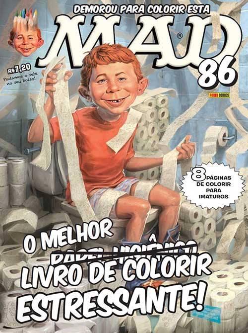 MAD Magazine #86 • Brasil • 4th Edition - Panini