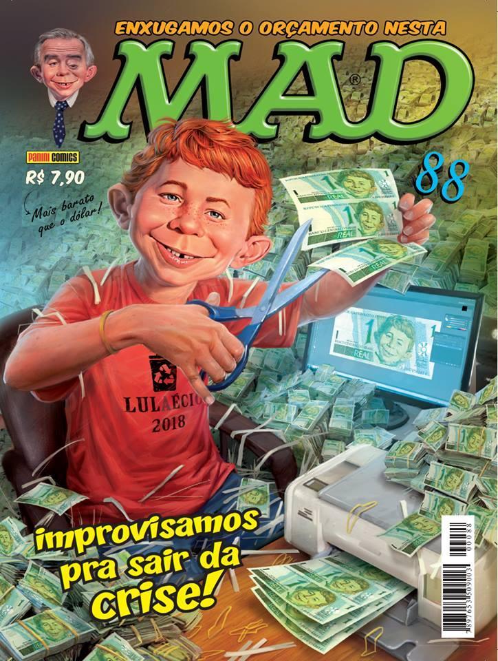MAD Magazine #88 • Brasil • 4th Edition - Panini