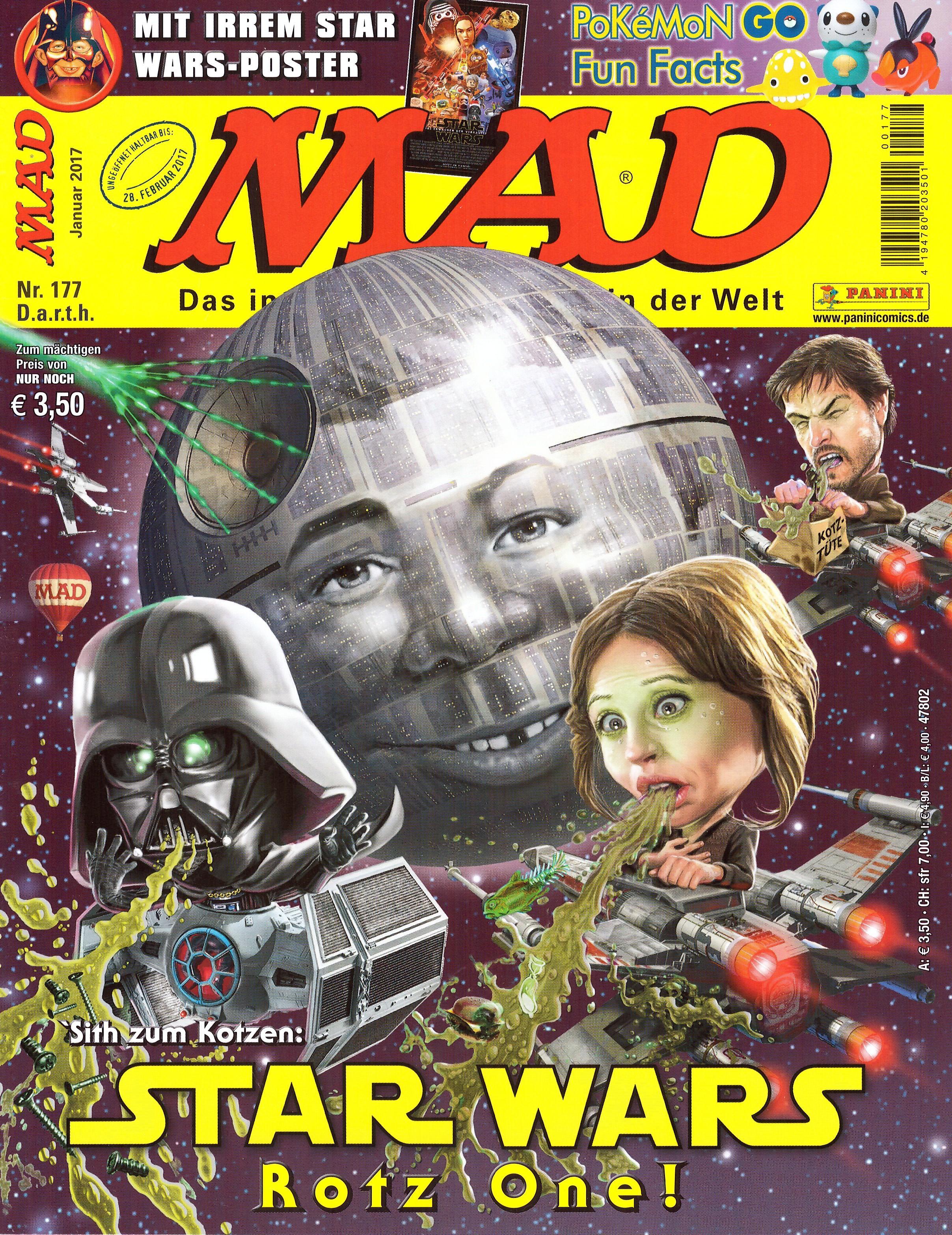 MAD Magazine #177 • Germany • 2nd Edition - Dino/Panini