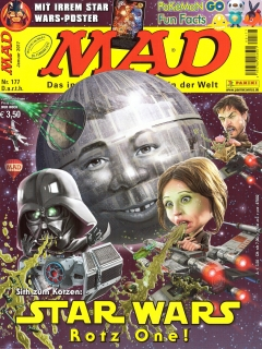 Go to MAD Magazine #177 • Germany • 2nd Edition - Dino/Panini