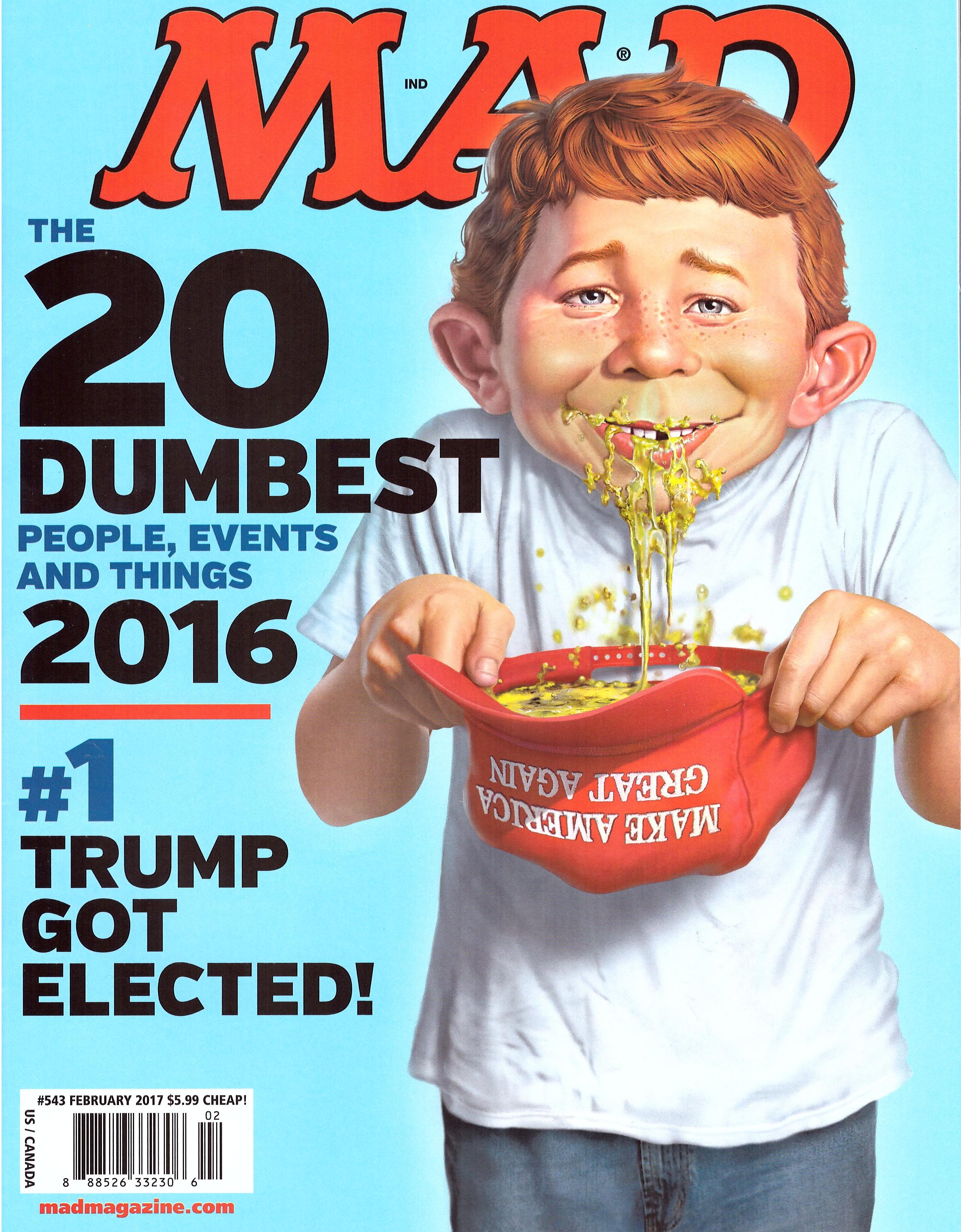 MAD Magazine #543 • USA • 1st Edition - New York